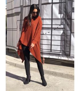 Brick Red Sweater