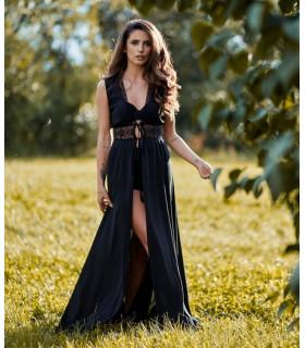 Black Festival Dress