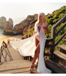 White Festival Dress