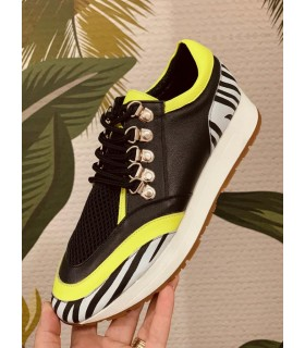 Lime Sport Shoes