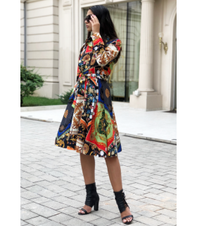 Oriental Summer Dress