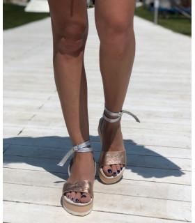 Goldish Sandals