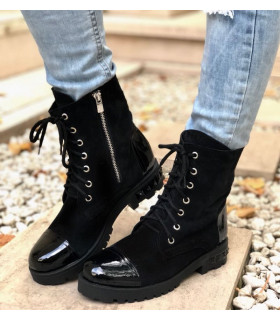 Royal Black Boots