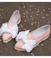Shinny Pink Ballerinas