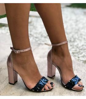 Elegant Purple Sandals