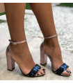 Elegant Purple Sandals