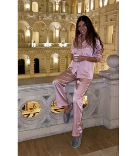 Set Pijamale La vie en rose