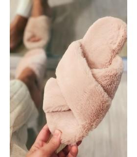 Papuci de casa Pink Cosy