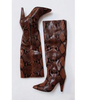 Brown Cobra Boots