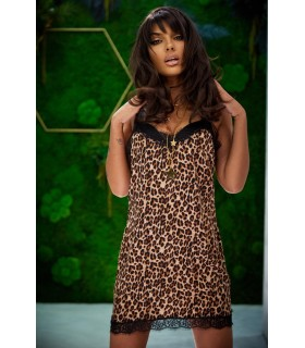 Rochie Retro Leopard