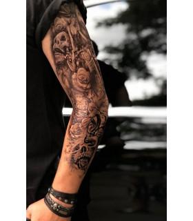 Dark Skulls Tattoo