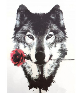Wolf&Rose Tattoo