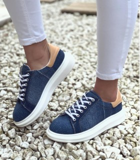 Adidasi Blue Denim