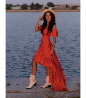 Red Swan Dress