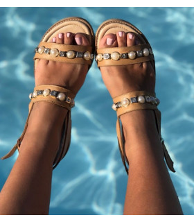 Creamy Pearl Sandals