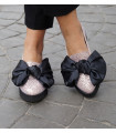 Sparkle Bow Ballerinas