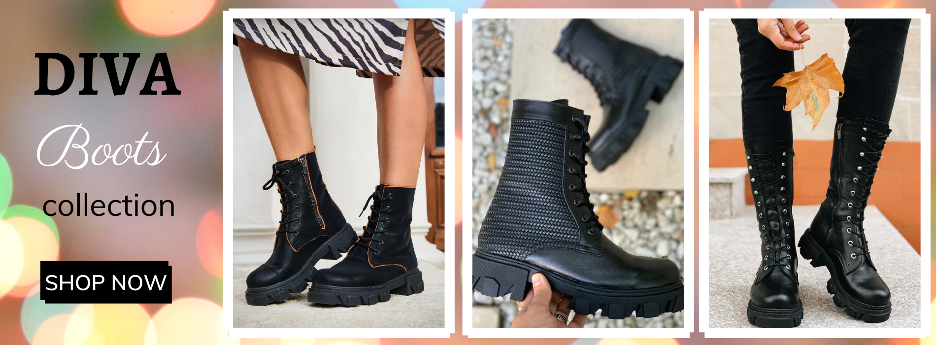 DIVA boots collection